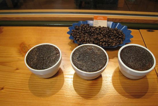 coffee-tasting