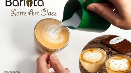 咖啡拉花速成班 ($198)